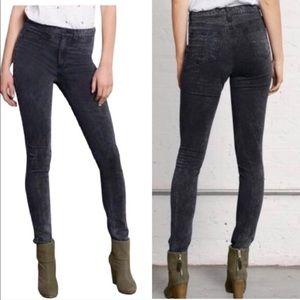 Rag & Bone Rosebowl Black Leggings Jeans